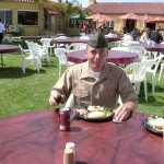"Terry getting done with Boot Camp ""MCRD"""